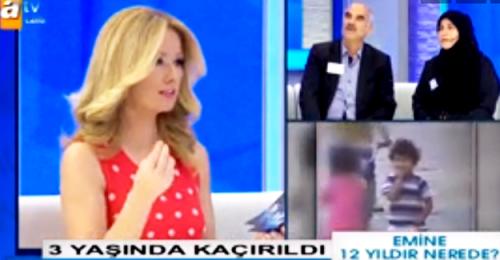 Kayıp Emine'nin hikayesi ATV ekranlarında