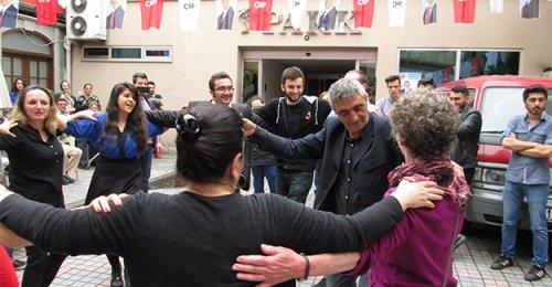 Bayburtlular CHP adayı Pekşen için buluştu