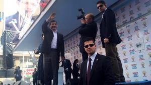 Başbakan Davutoğlu, Bayburt'ta konuştu