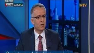Naci Ağbal NTV'den seslendi