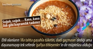 Bayramlık tadımız: Tatlı çorba