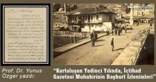 1925'te Bayburt'un ahvali