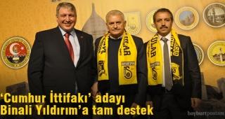 İstanbul'dan Cumhur İttifakı'na destek