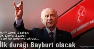 MHP lideri Bahçeli, teşekkür için geliyor