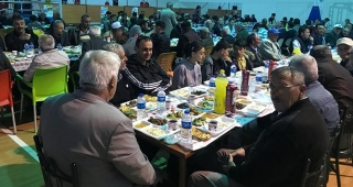 Aydıntepe'de büyük iftar sofrası