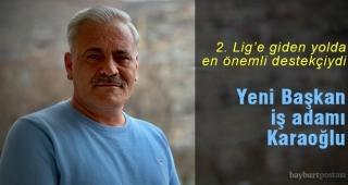 Bayburt İl Özel İdare Spor Kulübü Başkanı Muhammet Karaoğlu