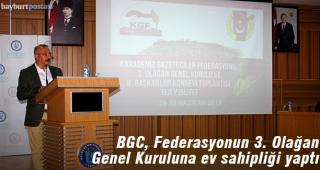 KGF'nin 3. Olağan genel kurulu Bayburt'ta yapıldı