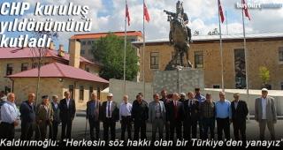 CHP'den kuruluş yıldönümü açıklaması