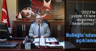 Nuhoğlu'ndan 'Kayıtdışı İstihdamla Mücadele' açıklaması