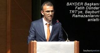 TRT Radyosunda 'Bayburt Kültüründe Ramazanlar' anlatıldı