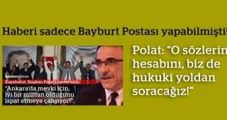 """Polat: """"O sözlerin hesabını, hukuki yoldan soracağız!"""""""