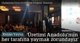 Uluslararası Oyun ve Oyuncak Kongresi başladı